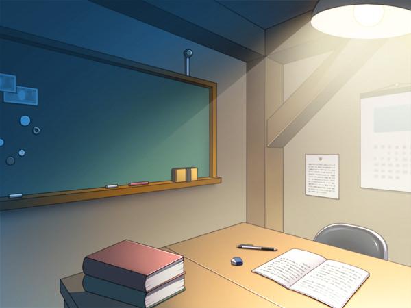 屋根裏部屋の部室