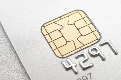 IC付きのクレジットカード画像