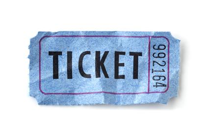 チケットのイメージイラスト
