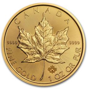 カナダ王室造幣局発行金貨の画像