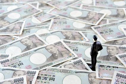資産を表す1万円札の画像