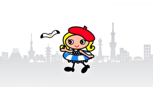 トラベルコちゃんのキャラクター画像